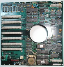 Front view of Controller Board